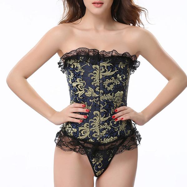Kvinder Feminin/Sexet/Elegant Elasthan Maiô Formet tøj