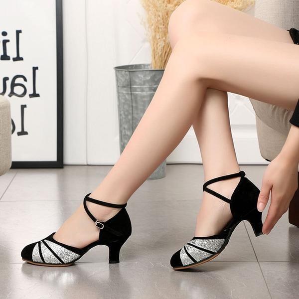 De mujer Cuero Tacones Danza latina Zapatos de danza