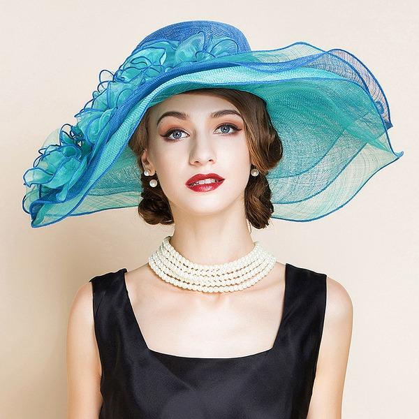 Senhoras Moda/Elegante/Romântico/Vintage/Artístico Cambraia Fascinators