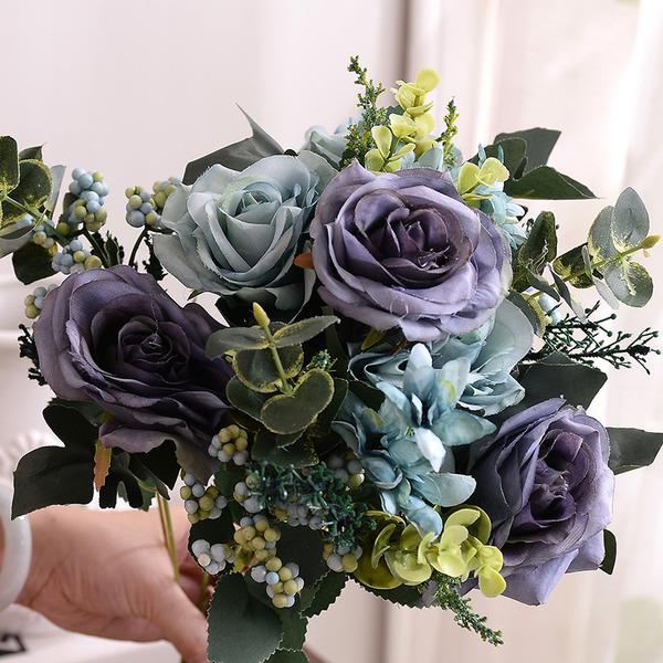 Elegant Fri Form Konstgjorda Blommor Dekorationer -