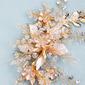 Vakkert Crystal/Legering Kammer og Barrettes med Rhinestone (Selges i ett stykke)
