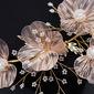 Hermoso cobre Diademas con Perla Veneciano (Se venden en una sola pieza)