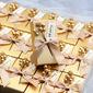 クラシック 立方体 カード用紙 記念品ボックス (30本セット)