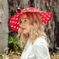 Señoras' Llamativo/Caliente poliéster con Perla Sombreros Playa / Sol